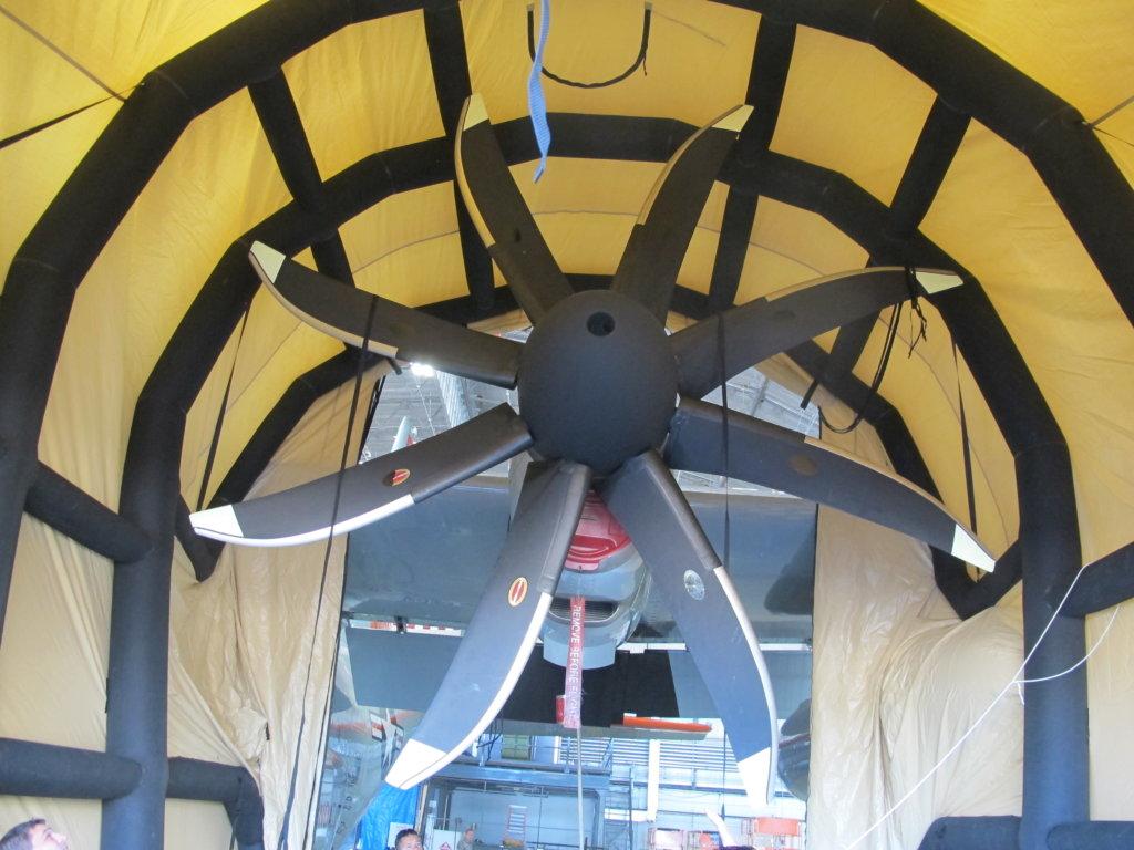 C-130 Fitted around Prop Engine (2)